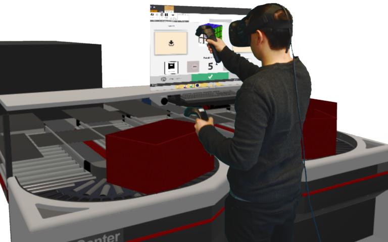 VR plukkestation TGW
